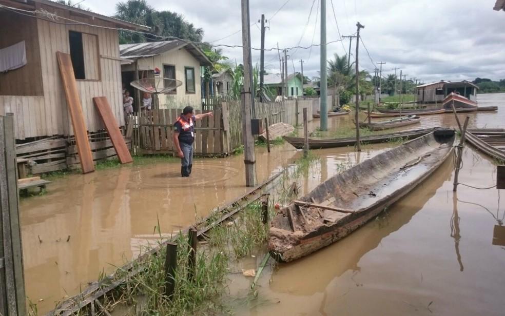 Guajará está em Situação de Emergência (Foto: Defesa Civil/Divulgação )
