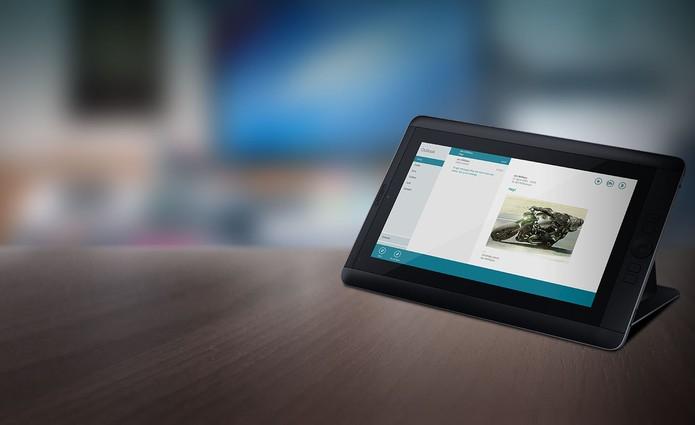 Android 4.2 transforma o Cintiq Companion Hybrid em um tablet (Foto: Divulgação)