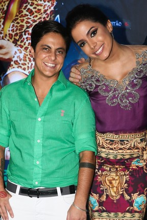 Anitta e Thammy Miranda (Foto: Manuela Scarpa /Foto Rio News)