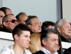 Florentino Pérez Real Madrid Castilla (Foto: Reprodução / Site Oficial)