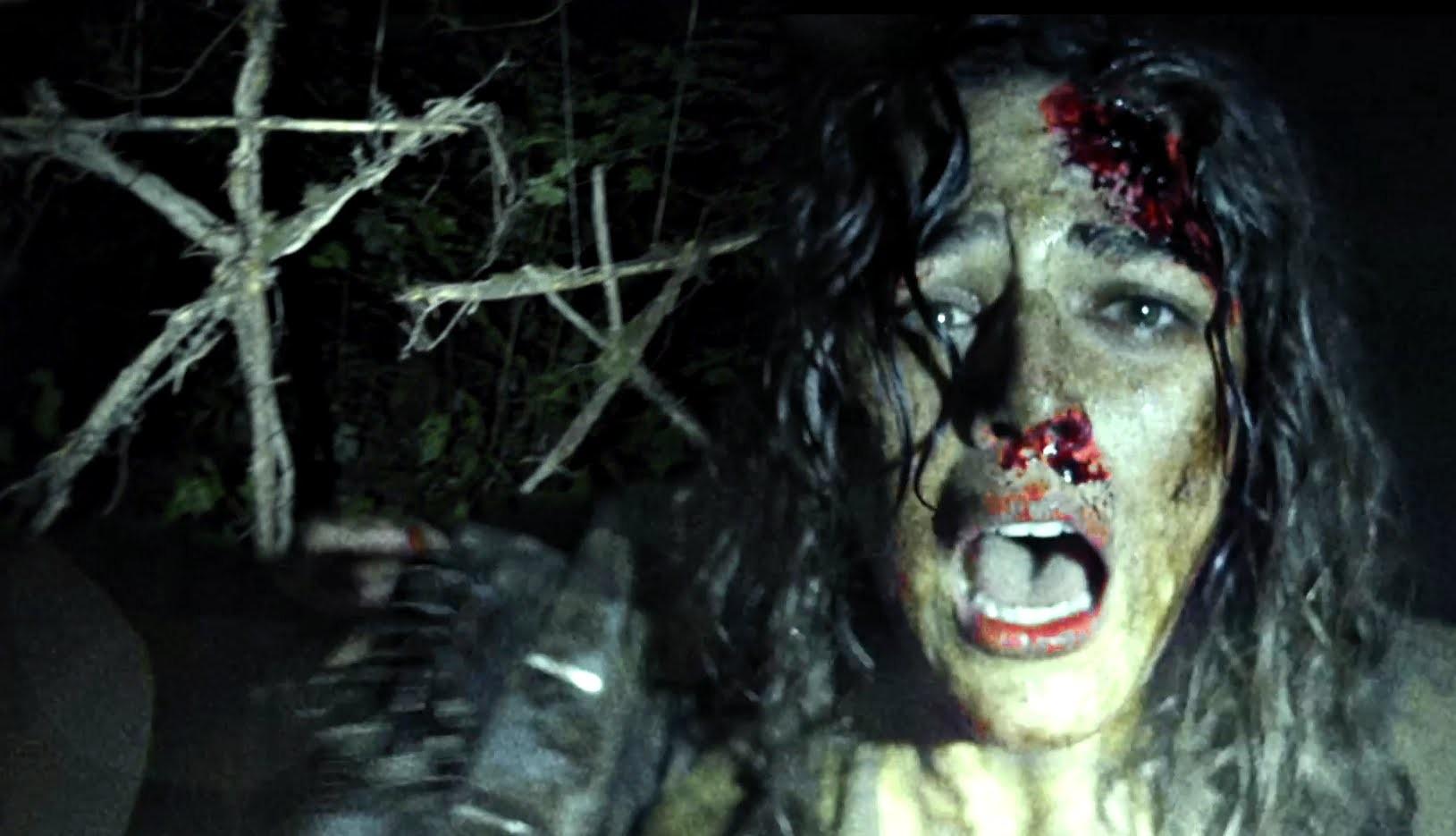 Cena da continuação de A Bruxa de Blair (Foto: Reprodução)