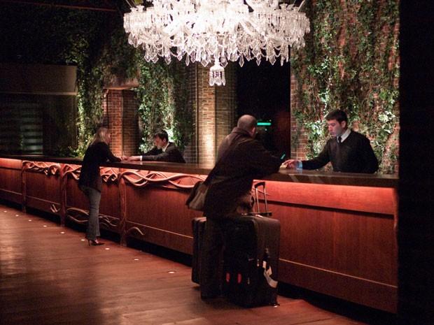 Recepção de hotel em Nova York (Foto: Susan Sermoneta/Creative Commons)