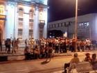 Centrais sindicais fazem passeata em Aracaju pelos direitos trabalhistas