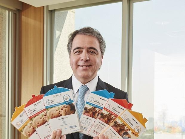 Marcos Ferreira, presidente do BB Mapfre nas áreas de Auto, Seguros Gerais e Affinities (Foto: Divulgação)
