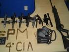 Dupla é presa transportando armas e munições em São Miguel do Guaporé