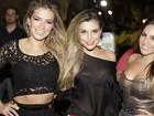 Ex-BBBs Fani, Flávia Viana e Anamara curtem show em Fortaleza