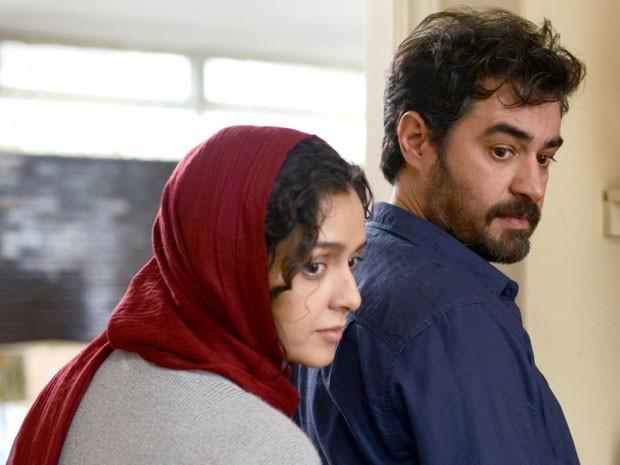 Taraneh Alidoosti e Shahab Hosseini em cena de 'Forushande', de Asghar Farhadi; o filme foi indicado pelo Irã para concorrer à vaga entre os concorrentes ao Oscar de melhor filme em língua estrangeira (Foto: Divulgação)