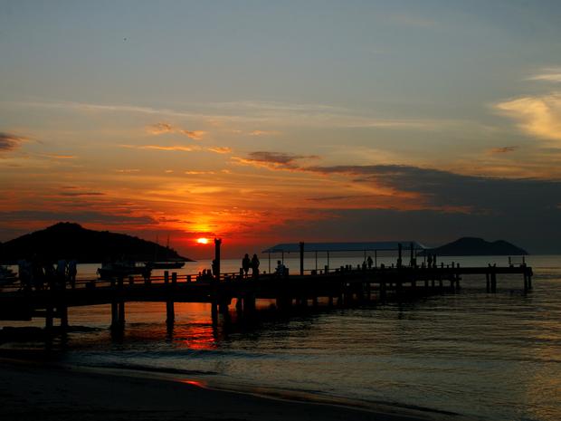 Turistas ficam admirados com a beleza natural da região (Foto: Prefeitura de Búzios)