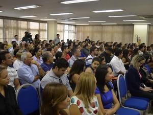Candidatos são do concurso da saúde, realizado em 2012 (Foto: Abinoan Santiago/G1)