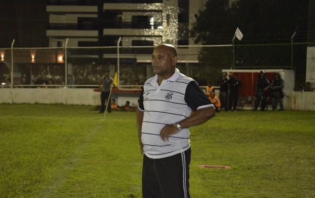 Ex-jogador Aldo, campeão brasileiro pelo Fluminense em 1984, agora é técnico de time Sub-20 no Amapá (Foto: Jonhwene Silva/GE-AP)