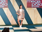 Paloma Bernardi, David Brazil e mais famosos desfilam em evento de moda