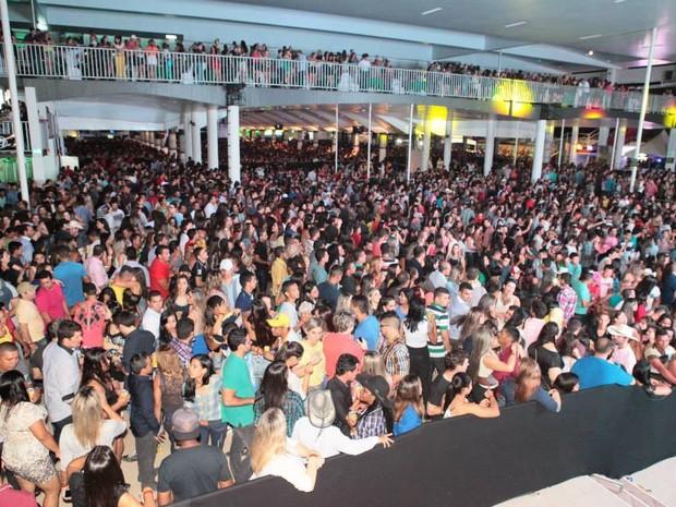 Talismã 21, público, casa cheia (Foto: Divulgação)