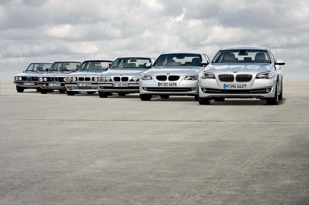 BMW Série 3 timeline (Foto: Divulgação)