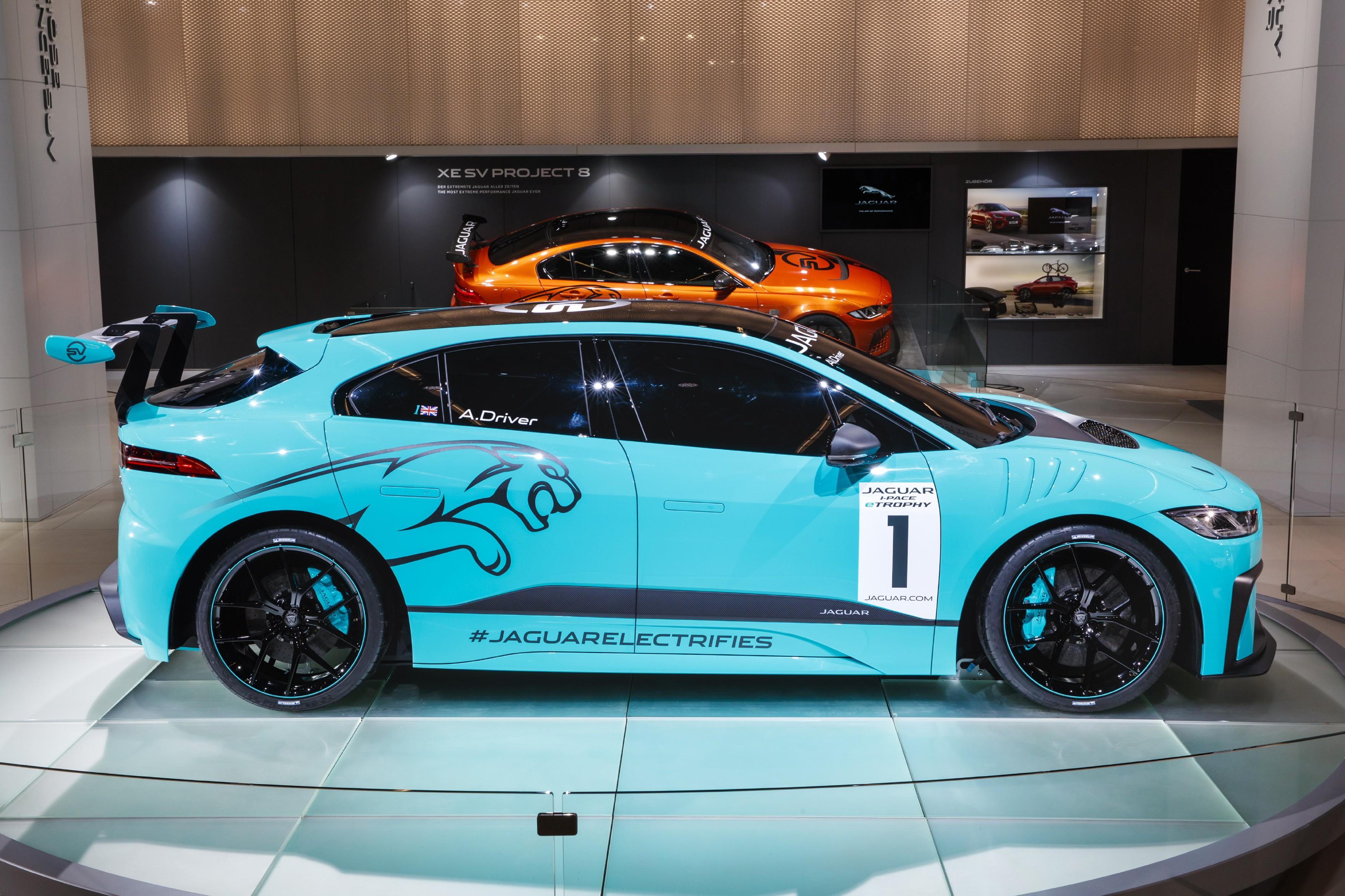 Jaguar I-PACE eTROPHY ganhará as pistas de competição (Foto: Divulgação)