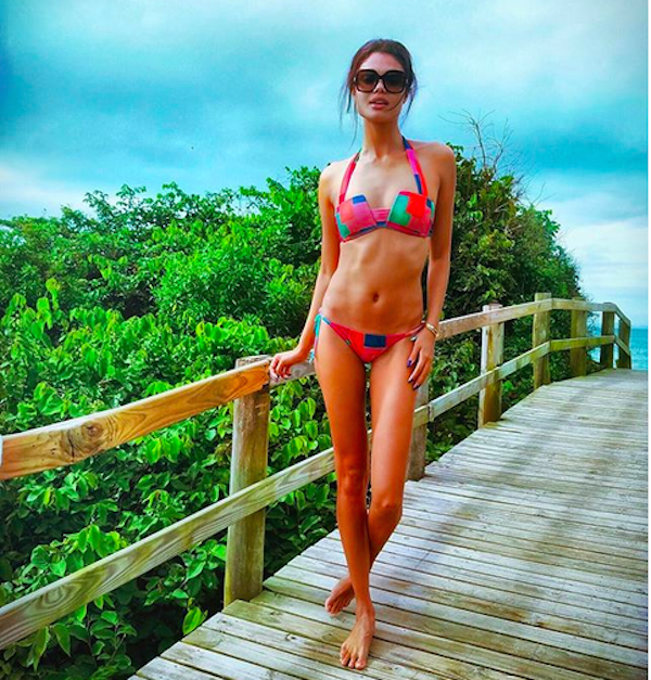 A modelo brasileira Dani Braga (Foto: Instagram)