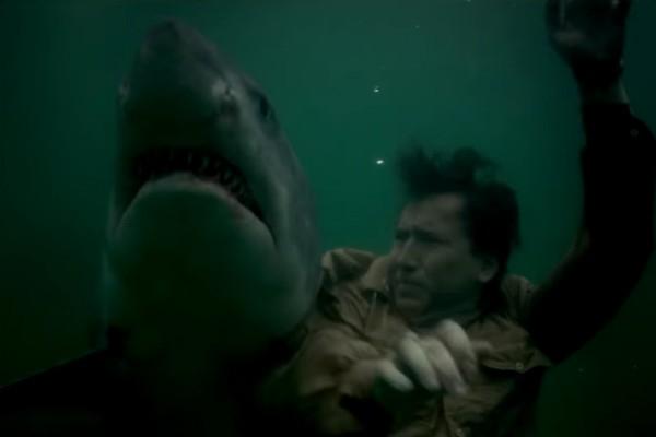O ator Nicolas Cage no trailer de 'USS Indianapolis: Men of Courage' (Foto: Reprodução)