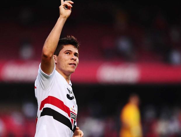 Osvaldo são paulo gol cruzeiro (Foto: Marcos Ribolli / Globoesporte.com)