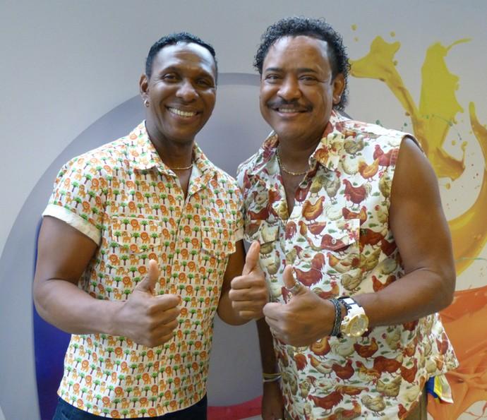 Beto Jamaica e Compadre Washington têm agenda lotada no Carnaval (Foto: Cristina Cople / Gshow)