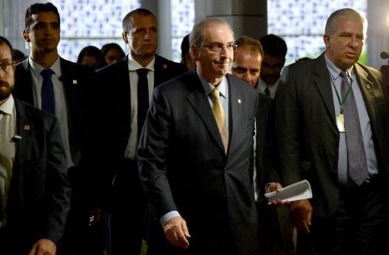 Eduardo Cunha é intimado pelo Banco Central (Foto: Fabio Rodrigues Pozzebom)