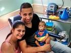 Bebê com síndrome rara aguarda ajuda para cirurgia de R$ 2 milhões
