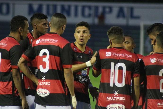Léo Maceió Flamengo-PI (Foto: Renan Morais)
