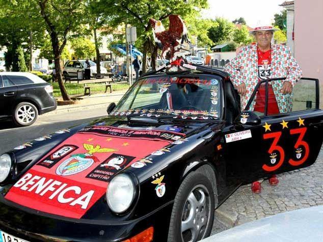 Torcedor do Benfica estiliza seu próprio Porsche 911
