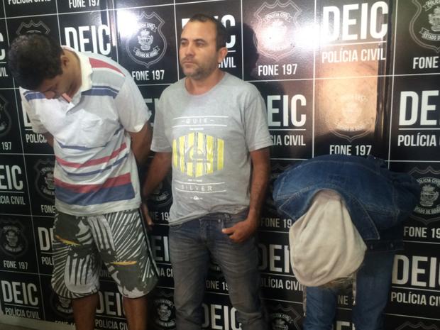 Grupo foi preso por tentar aplicar golpes em correntistas de alto padrão (Foto: Murillo Velasco/G1)