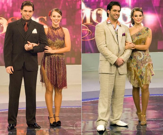 Paolla Oliveira no dia da final, em que dançou tango e samba e se sagrou campeã (Foto: TV Globo)