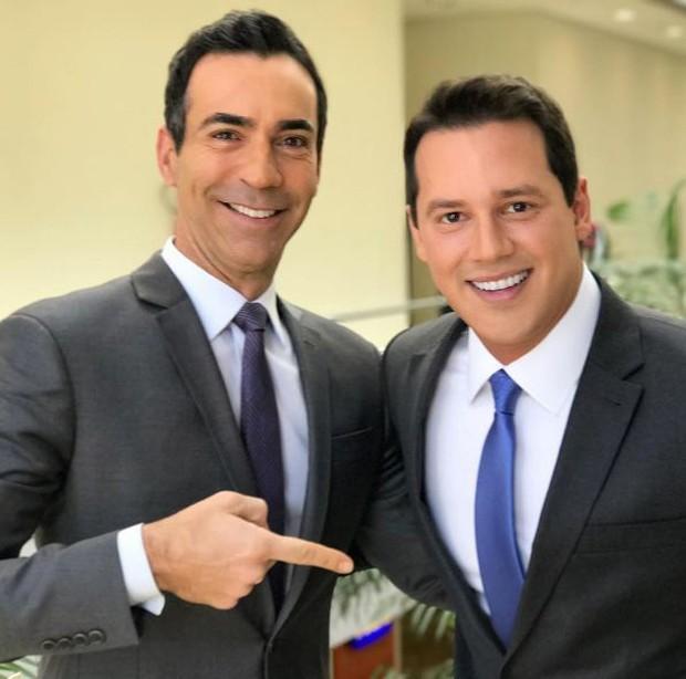 Cesar Tralli e Dony de Nuccio (Foto: Reprodução/Instagram)