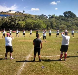 Equipe de Mogi das Cruzes está se preparando desde o início do ano (Foto: Divulgação/Gil Vilas)