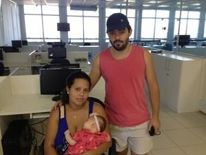 casal macaé reclamação guarda municipal (Foto: Heitor Moreira/G1)