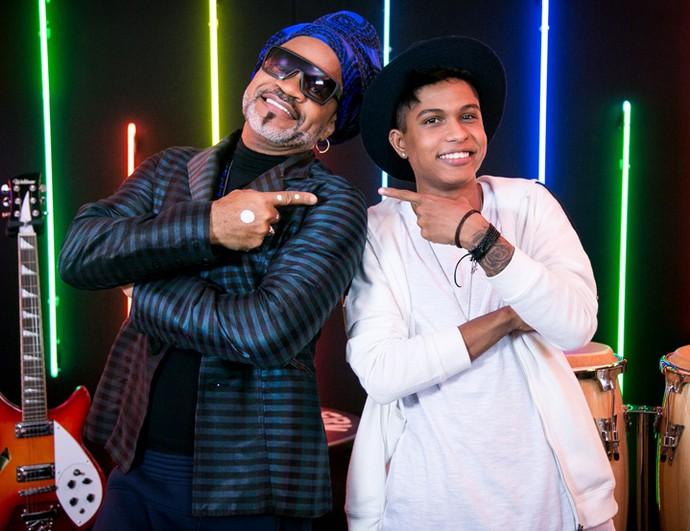 Brown e Junior Lord <3 (Foto: Isabella Pinheiro/Gshow)