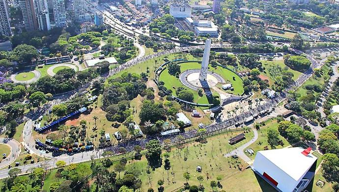 Maratona de São Paulo euatleta (Foto: Divulgação)