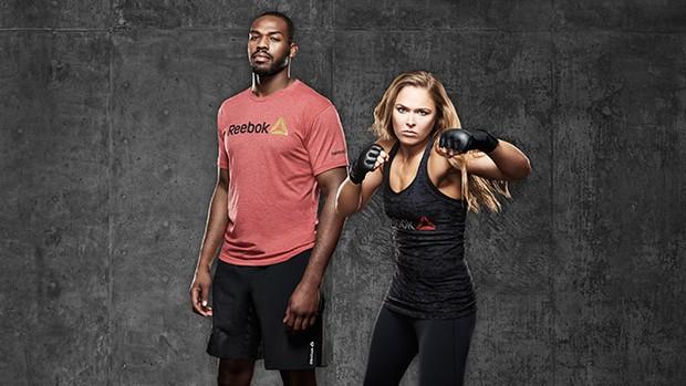 Jon Jones y Ronda Rousey aceptan patrocinio de reebok