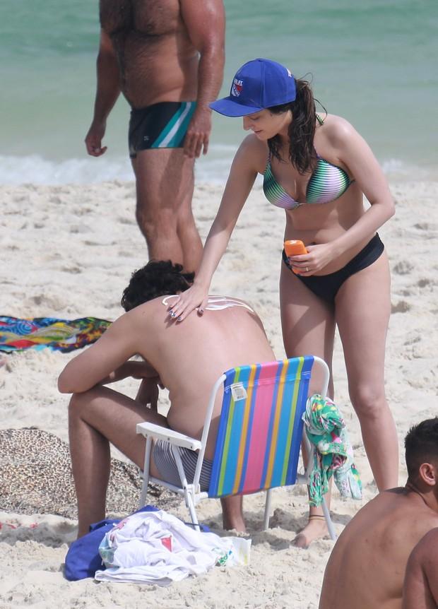 Fernando Caruso com a mulher (Foto: Dilson Silva / AgNews)