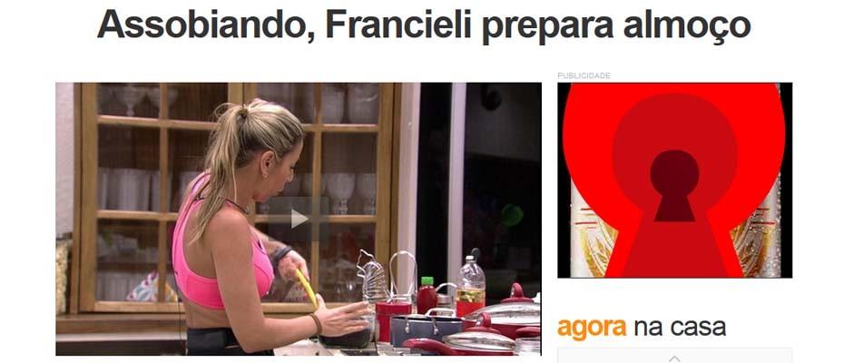Francieli notícia