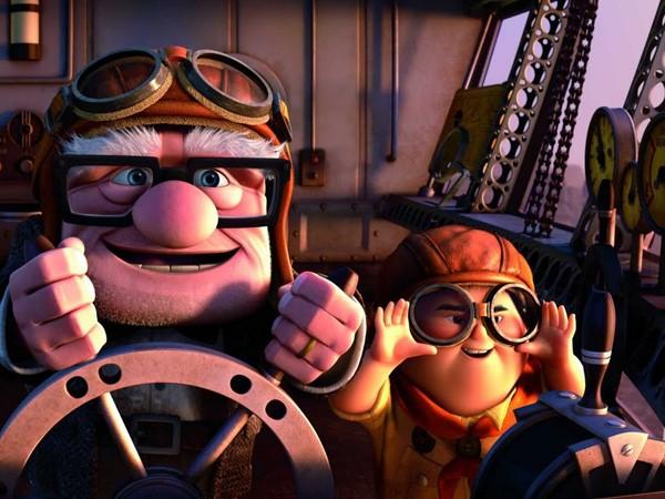 Russell e Carl Fredricksen (Foto: Divulgao)