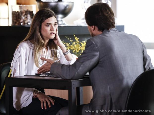 Lili é direta e avisa: acabou o casamento! (Foto: Inácio Moraes/TV Globo)