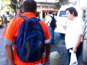 Rosa Maria, de 64 anos, comemorou a iniciativa (Foto: Cristiane Cardoso/G1)