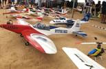 Veja como foi o encontro de aeromodelismo em São Sebastião de Lagoa de Roça