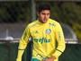 De volta ao time titular do Palmeiras, Thiago Martins revê rival de estreia