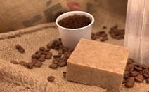 Sabonete feito com borra de café
