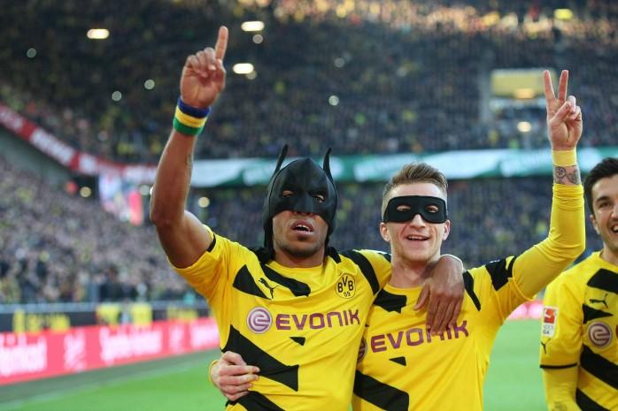 Aubameyang Reus Borussia Dortmund
