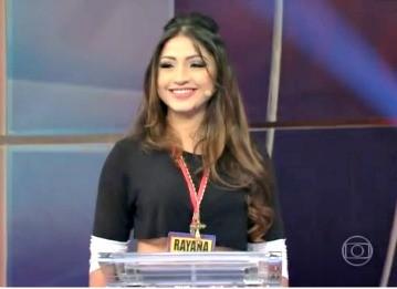 Rayana Correa TEM GENTE ATRÁS (Foto: Reprodução/TV Liberal)