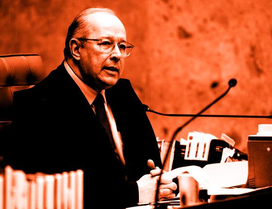 O ministro Celso de Mello.Seu voto demarca os limites das delações (Foto:  Agência Senado)