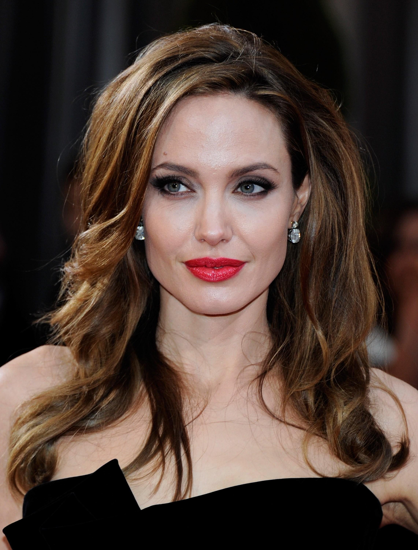 Angelina Jolie: lábios naturalmente carnudos (Foto: Getty Images)