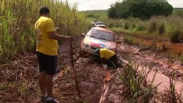 Neste domingo (8) teve 4º Encontro de Trilhas, em Maringá (Foto: Reprodução/RPC)