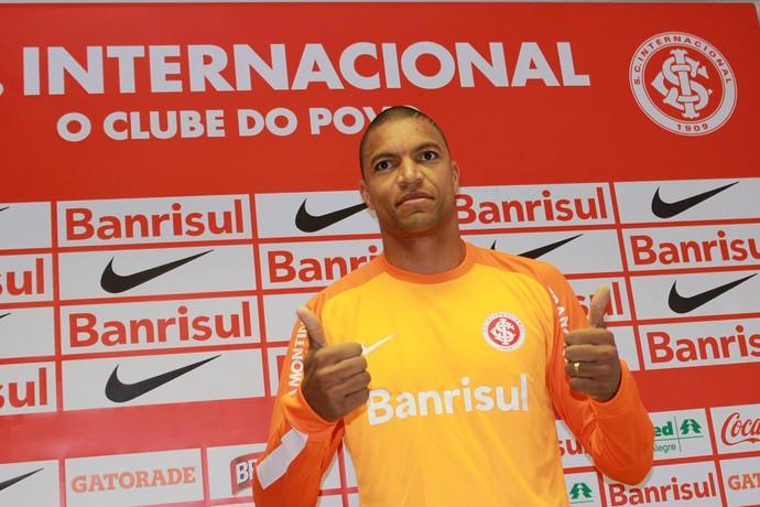 Dida, novo goleiro do Inter (Foto: Wesley Santos/Agência PressDigital )