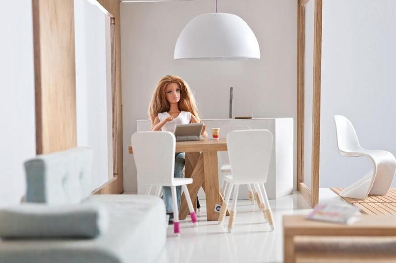 Casa da Barbie versão adulta (Foto: Reprodução Miniio)