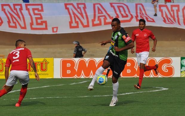 Obina, Vila Nova x América-MG (Foto: Assessoria AFC)